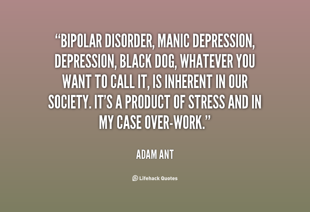 bipolar disorder with manic depression Bipolar disorder, formerly known as manic-depressive illness, is a brain and behavior disorder characterized by severe shifts in a person's mood and energy, making it difficult for the.